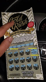 gold rush new hampshire lottery scratcher win